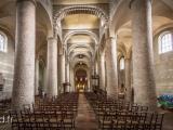 Inside Abbaye de Tournus