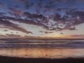 Etang sale sunset