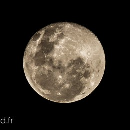 Full moon of May 2014