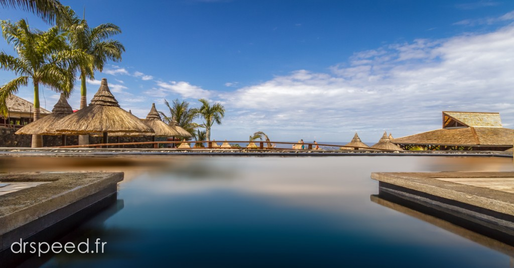 Zen swimming pool...