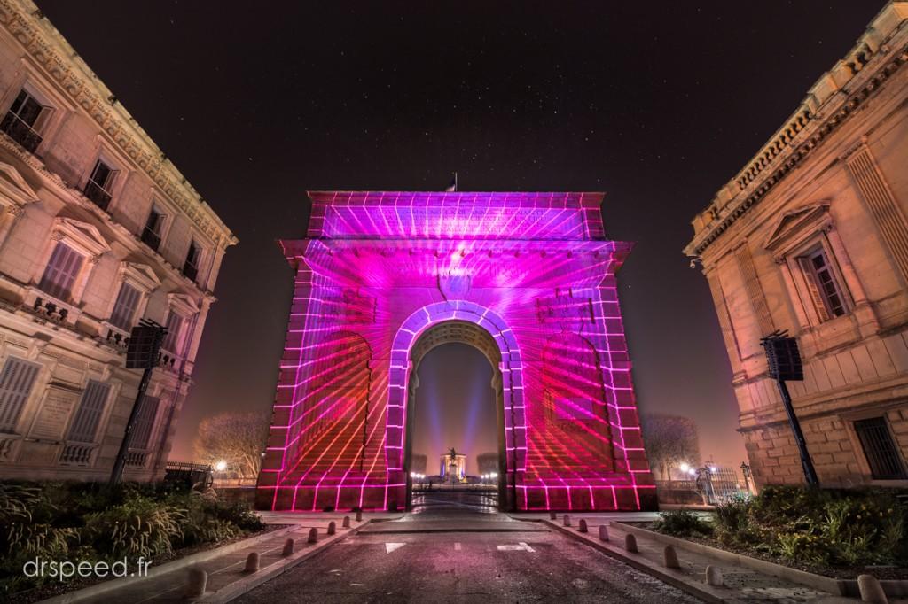 drspeed_photo©christophe_ran_Montpellier Coeur Ville Lumieres DRI4 Pink 011216-1