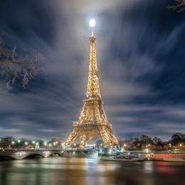 La Tour Eiffel Lampadaire