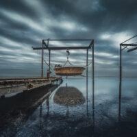 Dark Oyster Boat
