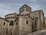 Outside Abbaye de Tournus