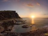 Cap Champagne Sunset Pano 1-6 pics 250215-1